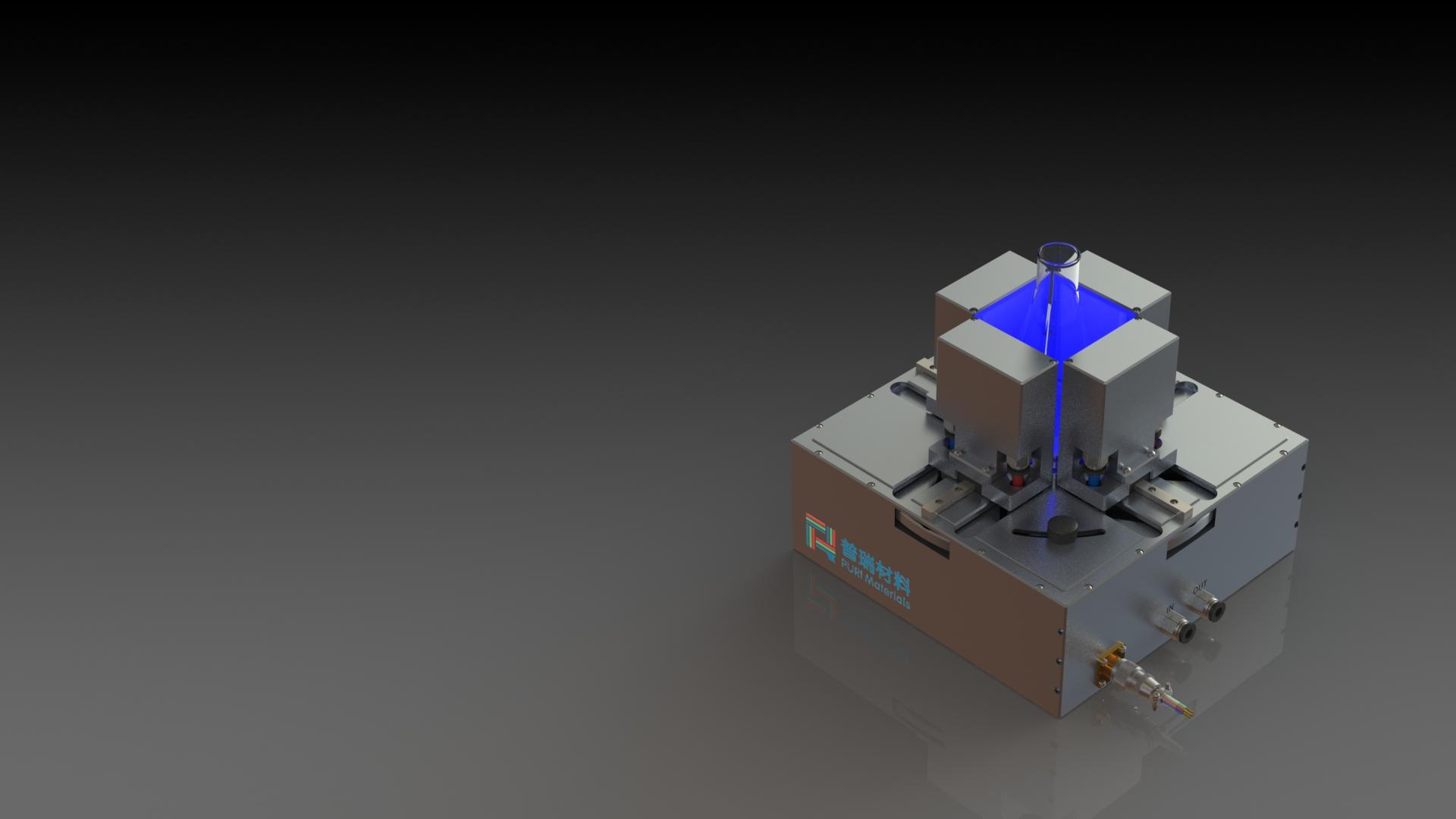 可变间距光反应器渲染图-2-100ml(1)