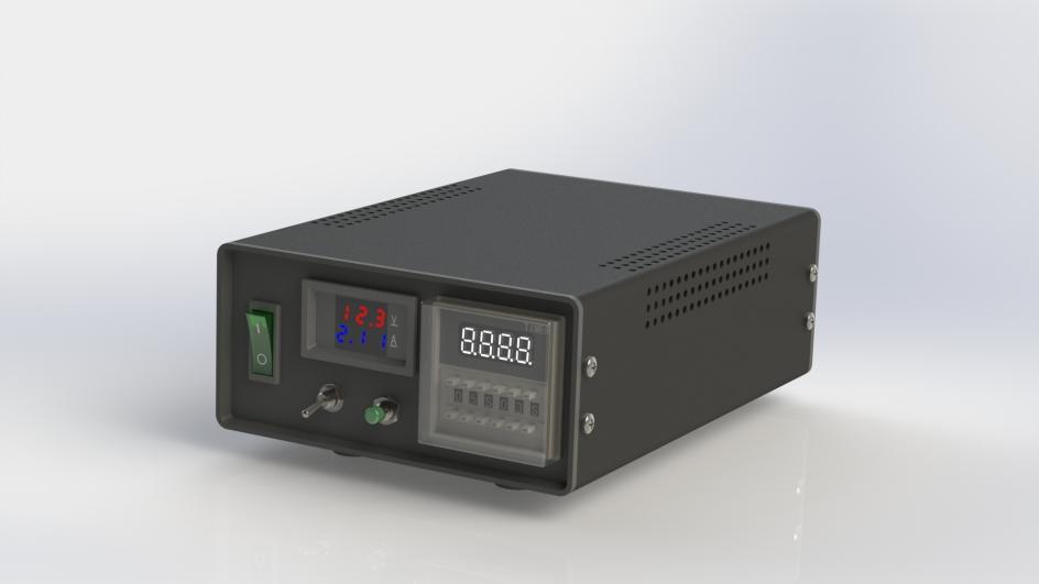 标准电源盒-侧视图