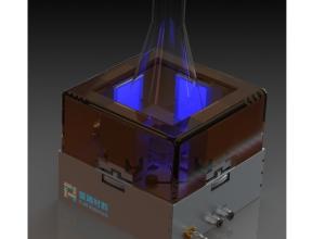 可变间距光反应器渲染图-3
