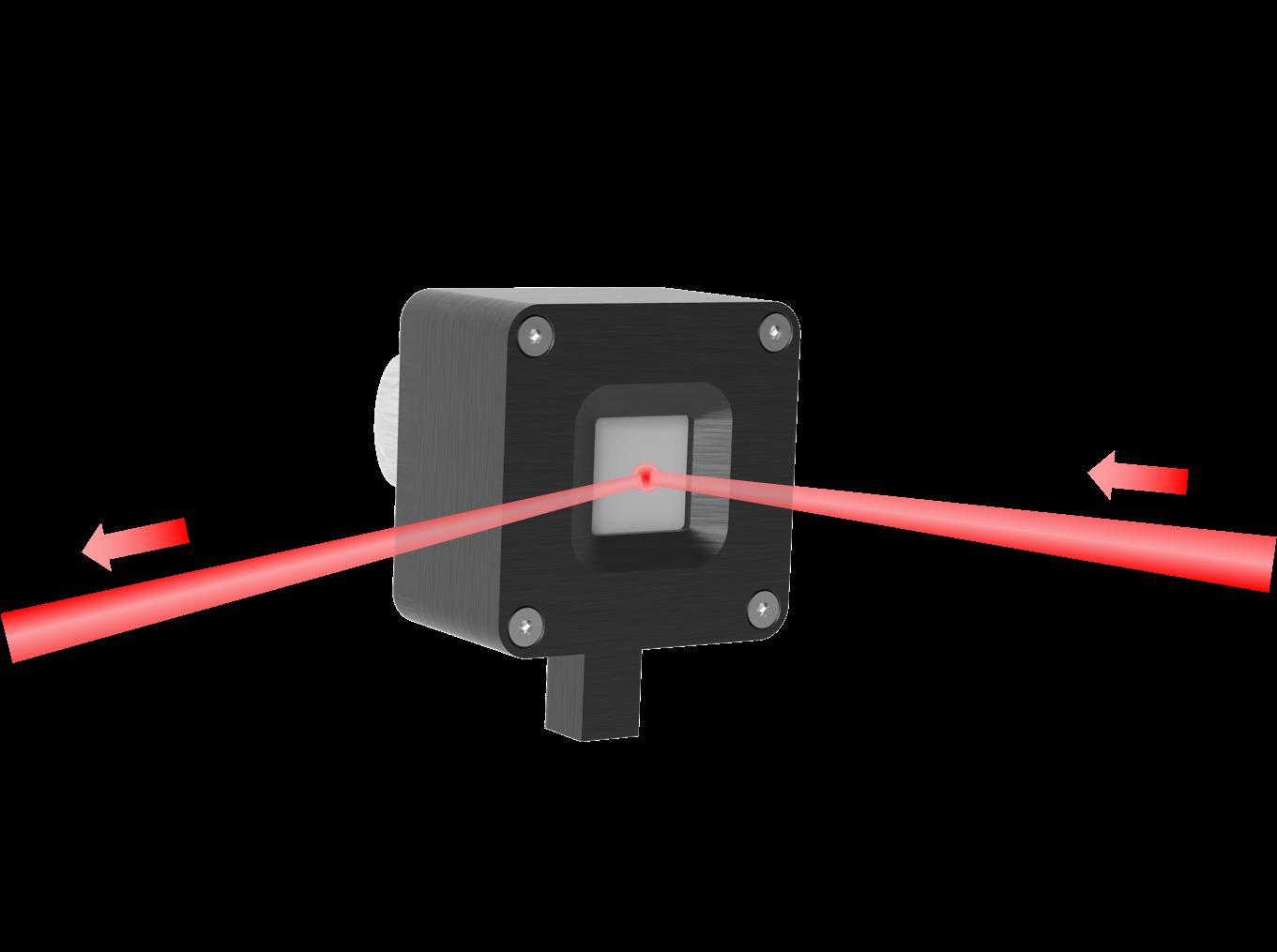 反射芯片夹具 示意图