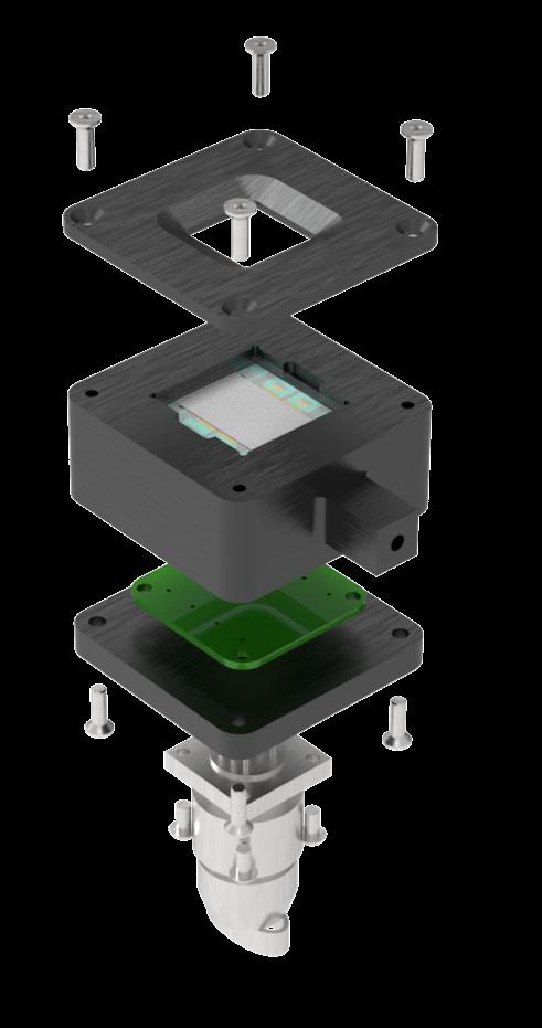 反射芯片夹具 组成图